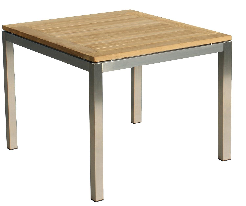 Nexus Edelstahl Tisch 90×90 cm Gartentisch Gartenmöbel Esstisch bestellen