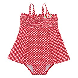 Infant Girls' Circo® Gingham Swimsuit - Red