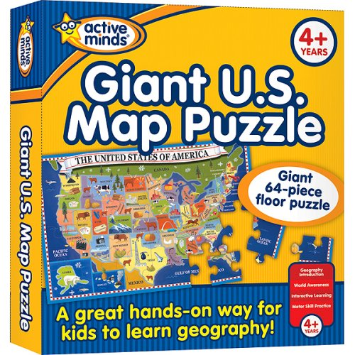 Picture of Publication International Map Floor Puzzle (B000TDINBG) (Floor Puzzles)