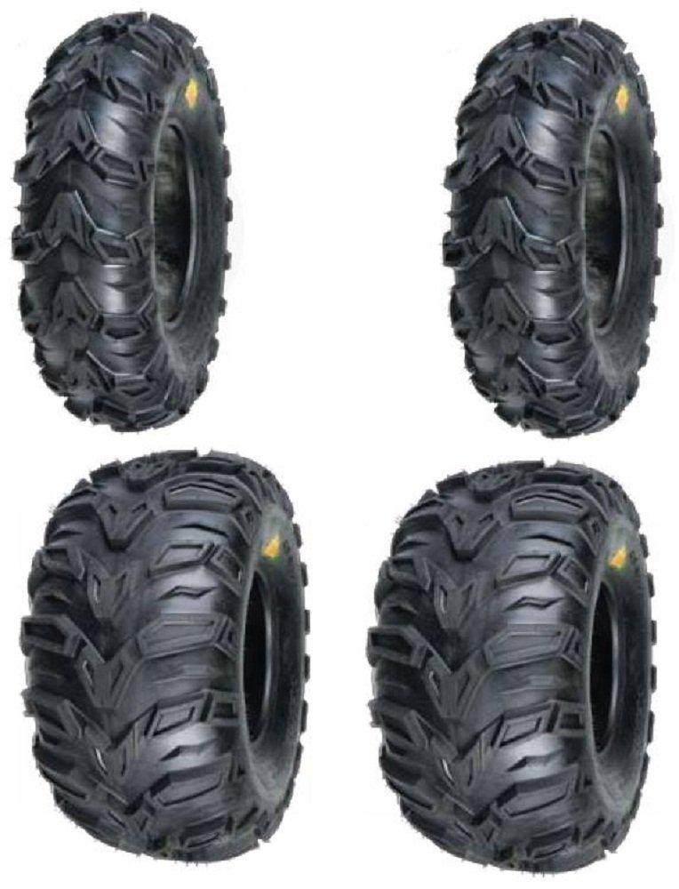 2 FRONT 25-8-12 & 2 REAR 25-10-12 ATV MUD REBEL TIRES-cheap-atv-tires