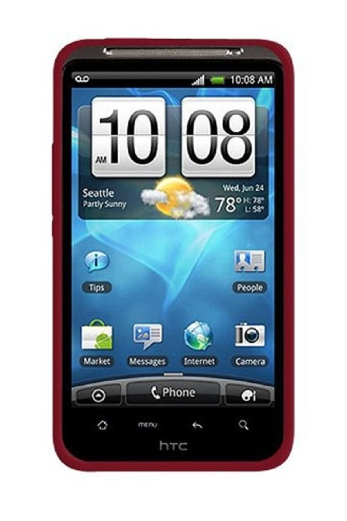 HTC Inspire 4G A9192 AT&T Unlocked GSM Android Smartphone – Red