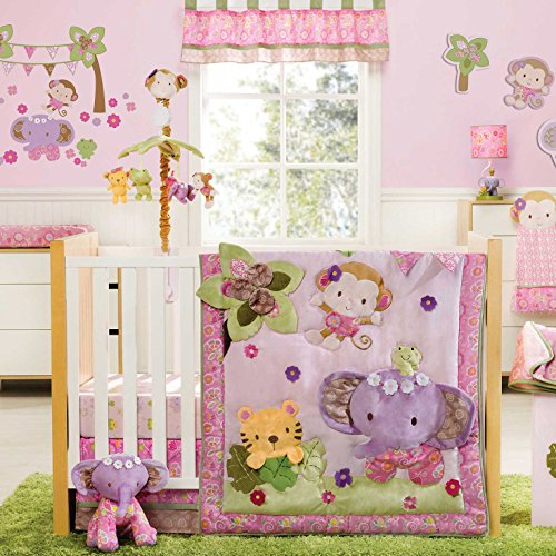 Blossom Tails 4 Piece Baby Crib Bedding Set By Kidsline front-27319