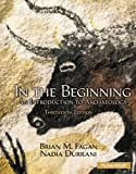 img - for In the Beginning, Instructor's Review Copy: An Introduction to Archaeology book / textbook / text book