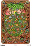 The Original DoodleArt Jungle Coloring Poster