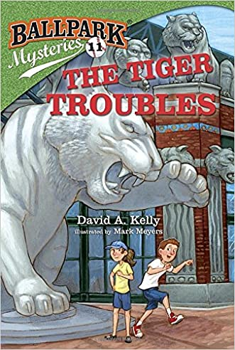 Ballpark Mysteries #11: The Tiger Troubles (A Stepping Stone Book(TM)) written by David A. Kelly