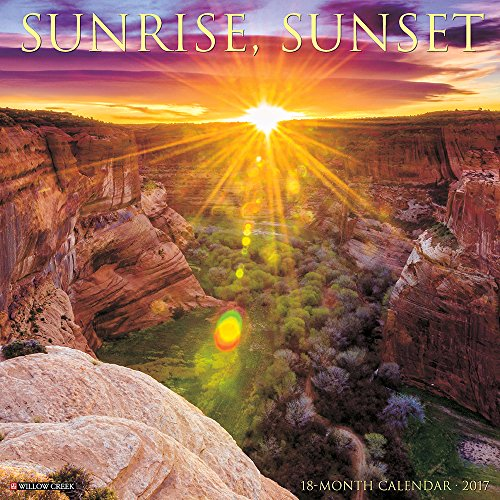 Sunrise, Sunset 2017 Wall Calendar