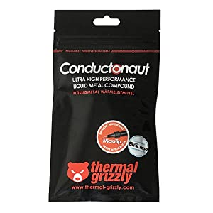 Thermal Grizzly Conductonaut Thermal Grease Paste - 1.0 Gram
