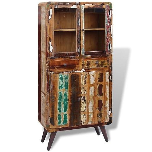 Vidaxl Vidaxl armadio cassettiera credenza cassettiera in legno 90x 40x 190cm