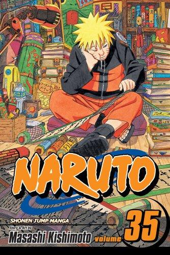 NARUTO -ナルト- コミック35巻 (英語版)