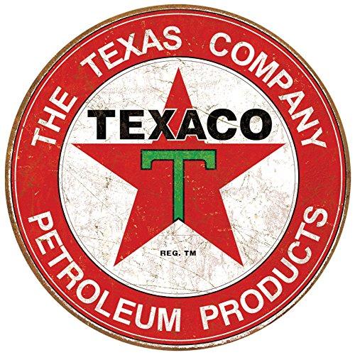 texaco-sippin-metall-rund-texaco-texas-rot