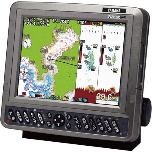 (ヤマハ) 8.4型GPSアンテナ内蔵プロッタ魚探