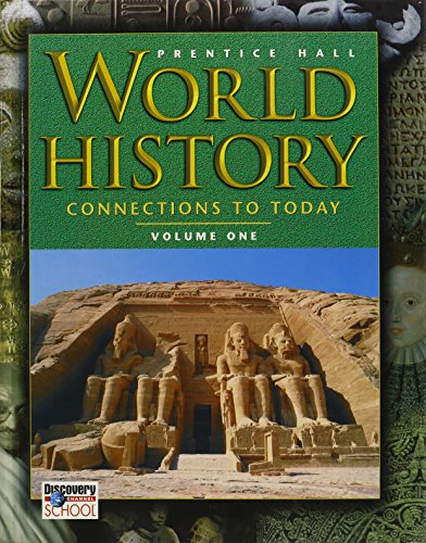 World History: Connections to Today (Volume 1) (Connections A World History Vol 1 compare prices)