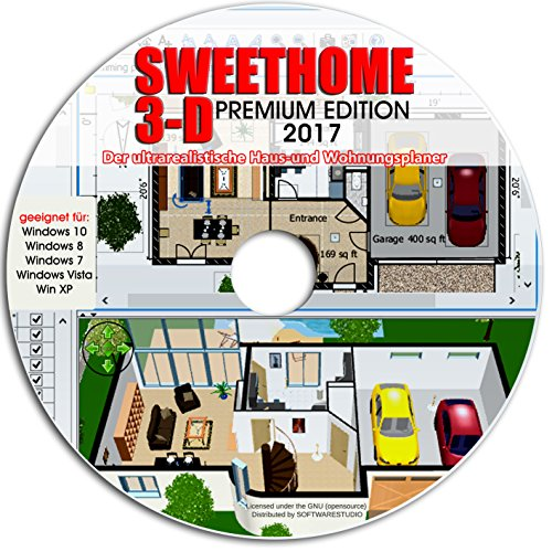 sweet home 3d raumplanung premium edition mit mehr als 1. Black Bedroom Furniture Sets. Home Design Ideas