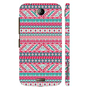 Micromax Canvas Q336 Aztec Thirteen designer mobile hard shell case by Enthopia