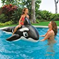 """Intex Whale Ride-On, 76"""" X 47"""", for Ages 3+ by Intex"""