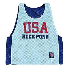 USA Beer Pong Lacrosse Pinnie