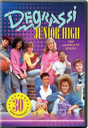 DVD : Degrassi Junior High Complete Series (6 Discos)