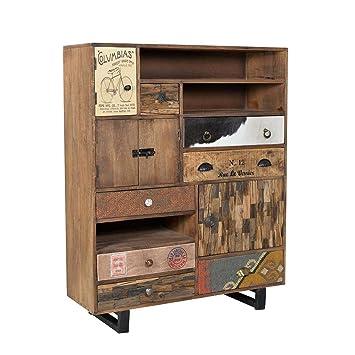Design Kommode mit Schubladen und Turen Loft Design Pharao24