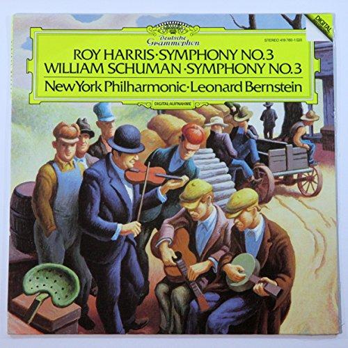 Roy Harris: Symphony No. 3 / William Schuman: Symphony No. 3 / New York Philharmonic, Leonard Bernstein (Roy Harris Symphony 3 compare prices)