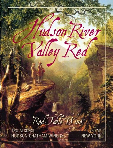Nv Hudson-Chatham Winery Hudson River Valley Red 750 Ml