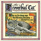 img - for The Proverbial Cat 2014 Mini (calendar) book / textbook / text book