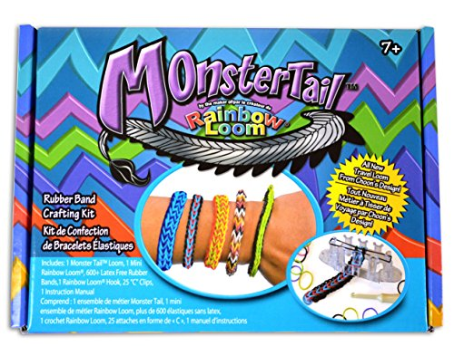 Monster Tail Mini Loom Bracelet - 1