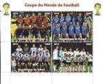 Fu�ball-WM-Briefmarken f�r Sammler -...