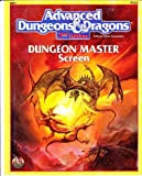 Advanced Dungeons & Dragons: Dungeon Master Screen, Ref 1, No. 9263, 2nd Edition (Official Game Accessory) (0880387475) by Winter, Steve