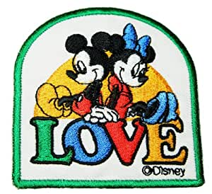 Disney Character Mickey Mouse Patches Embroidered Iron on Patch style05