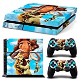 ice age skin sticker for ps4 and for 2 dualshock