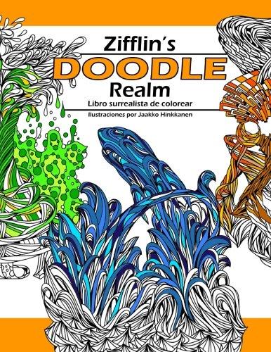 Doodle Realm: Libro surrealista de colorear