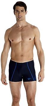 Speedo Monogram Asht Am Costume a Pantaloncino Uomo Nero L