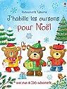 J'habille les oursons pour Noël - Autocollants Usborne par Brooks