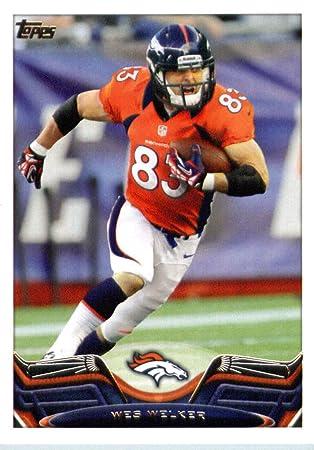 Mens Denver Broncos Wes Welker Nike White Game Jersey