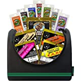 Buffalo Bills 1.75oz Beef Jerky Soccer 6-Pack Gift Cooler (filled with 12 assorted jerky packs)