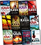Alex Kava Alex Kava Maggie ODell 12 Books Collection Pack Set RRP: £82.88 (Damaged, Fireproof, Hotwire, Black Friday, The Soul Catcher, A Perfect Evil, A Necessary Evil, Split Second, Whitewash, At the Stroke of Madness, EXPOSED, One False Move)