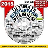 Ultimate Boot & Repair PREMIUM  CD/DVD  Windows 8   7   Vista   XP (32 & 64Bit) = COMPUTER DEFEKT ? ORIGINAL von STILTEC ©