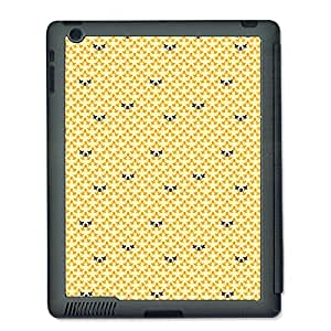 Skin4Gadgets ABSTRACT PATTERN 266 Tablet Designer GRAY SMART CASE for APPLE IPAD 2