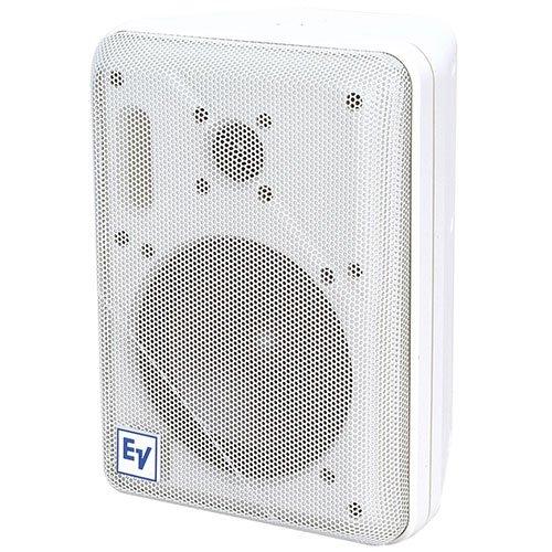 """Electro-Voice S-40W 5-1/4"""" 2-Way Speaker Pair White"""
