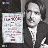 Icon : Samson Fran�ois, les enregistrements Chopin (Coffret 10 CD)par Frederic Chopin