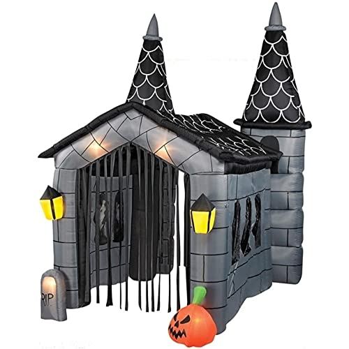 HALLOWEEN INFLATABLE 12 TALL AIRBLOWN HAUNTED HOUSE