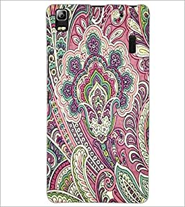 PrintDhaba Pattern D-2137 Back Case Cover for LENOVO A7000 PLUS (Multi-Coloured)