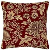 Arden Companies Strathwood Spun Polyester Pillow, 16 by 16-Inch, Melinda Coral, Set of 2 at Sears.com