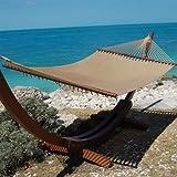 Caribbean Jumbo Hammock By Beachside Hammocks - Tan