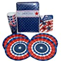 4th of July Patriotic Melamine Bunting Decorations