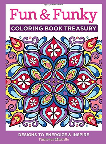 Download Fun & Funky Coloring Book Treasury: Designs to Energize and Inspire