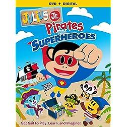 Julius Jr. Pirates & Superheroes