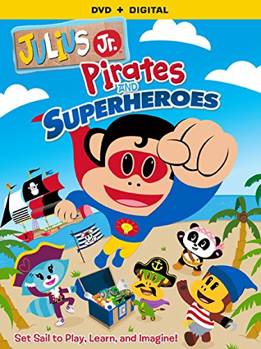 Julius Jr. Pirates & Superheroes