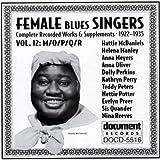 echange, troc Various Artists - Female Blues Singers 12: M-R