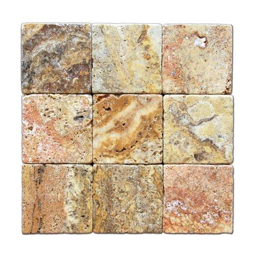 scabos-4-x-4-travertine-tumbled-tile-4-pcs-sample-set